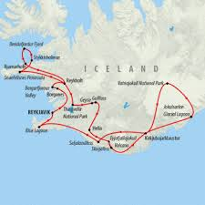 northern lights location map northern lights tour in iceland for 8 days on the go tours za