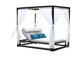 cabana coast apex cabana daybed with fabric canopy hudson u0027s