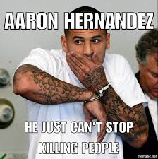 Aaron Meme - social media reacts to aaron hernandez taking his own life in prison