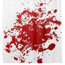 Blood Shower Curtain Bloody Shower Curtains Zazzle
