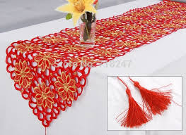 christmas table linens sale new sale christmas embroidery satin tablecloth red solid color
