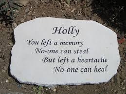memorial plaques memorial plaques for gardens rustic