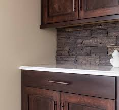 rock backsplash kitchen interior white stacked stone backsplash with large kitchen