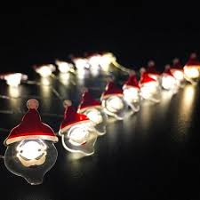 micro lights with timer santa claus shape string lights for patio micro 2m 20 led 3 98