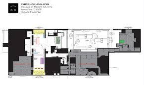 Moma Floor Plan Cll Phn Lckn At Moma U2014 Doug Jaeger