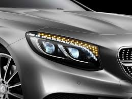 mercedes headlights the headlights in the new mercedes s class coupe are packed with