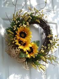 summer door wreaths colorful handmade summer wreath ideas to refresh