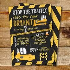 printable construction birthday invitation dump truck levi u0027s 2nd