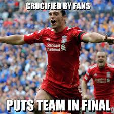 Football Meme - football meme andy carroll crucified by fans
