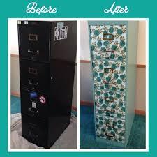 Teal File Cabinet Diy Filing Cabinet Makeover U2014 Weekend Craft