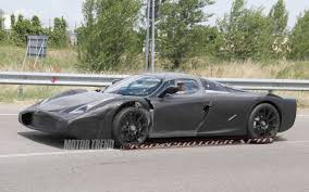 ferrari enzo sketch spied ferrari enzo prototype caught testing
