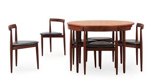 Dining Table And Six Chairs Paddle8 Dining Table And Six Chairs Hans Olsen