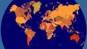 China On The World Map by Cyber Police Ir World Map