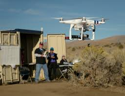 media invited to first test of drones flying beyond line of sight
