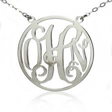 Monogrammed Necklace 42 Best Ns Circle Necklace Images On Pinterest Circle Necklace