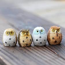 aliexpress buy anime birds owl home decor animal moss