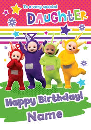 birthday cards teletubbies cards funky pigeon