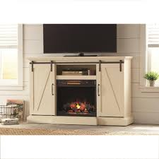 white tv stand with electric fireplace elton 58 tv stand with optional fireplace tv
