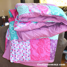 Patchwork Duvet Covers How To Sew A Patchwork Child U0027s Duvet Cover The Diy Mommy