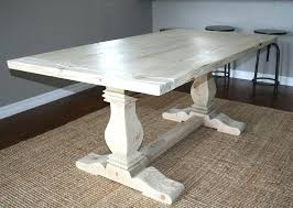 trestle 72 reclaimed wood rectangular dining table reclaimed wood trestle dining table custom made reclaimed wood