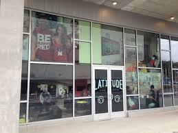 store front glass doors custom vinyl window graphics window clings decals cushing