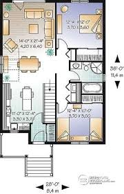 house plans large kitchen house plan w3125 detail from drummondhouseplans com