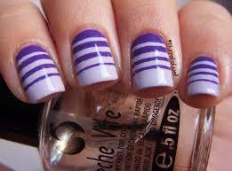 stripe nail designs nail art