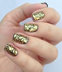 26 awesome mirror and metallic nail art ideas belletag