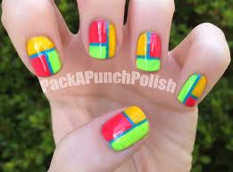 neon colored nail designs u2013 slybury com