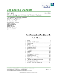 reinforced concrete codes standards and design principles