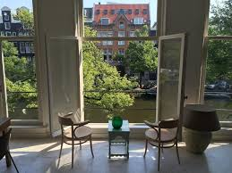 apartment penthouse with canal view amsterdam netherlands