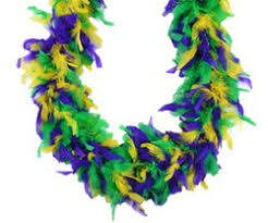 mardi gras boas mardi gras party design