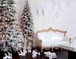 home interior christmas decorations interior design cool snow themed christmas decorations room