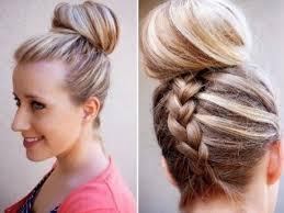 cuisiner des chignons de coiffure tresse en 105 exemples fascinantes pour vous coiffure