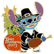 your wdw store disney happy thanksgiving pin 2013 pilgrim stitch