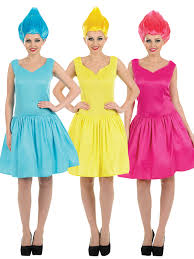 costumes for adults neon pixie costume adults fairy fancy dress wig womens