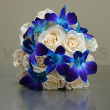 wedding flowers ottawa wedding bouquet with blue orchids w flowers ottawa