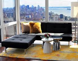 living room lounge nyc mid century modern coffee table convention new york contemporary