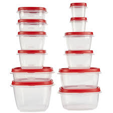 Gift Wrap Storage Containers Rubbermaid Amazon Com Rubbermaid 24 Piece Food Storage Container Set With