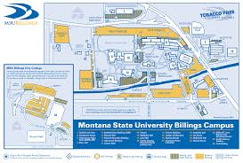Montana State Campus Map by Contact Msub Foundationmsub Foundation