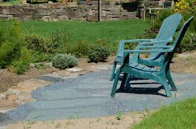 Slate Rock Patio by Laying A Flagstone Patio Instructions Supply List