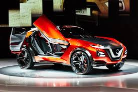 crossover nissan nissan gripz crossover concept expands z family in frankfurt