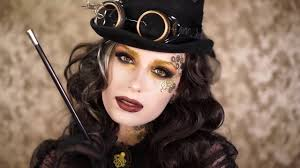 steampunk vampire halloween make up tutorial victoria lyn