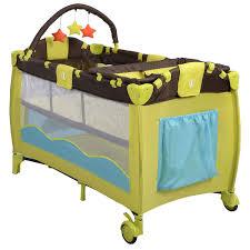 portable baby crib playpen playard pack travel infant bassinet bed