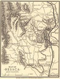 Maps Of Atlanta by Map Of Resaca And Vicinity Civil War Trust