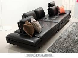 canap 4 places cuir canapé en cuir véritable salon transversale canapé coin meubles de