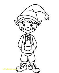 printable elf coloring pages elf coloring pages coloring pages