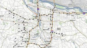 Portland Or Traffic Map what u0027s the most congested traffic corridor in portland kgw com