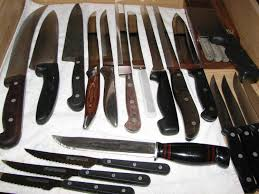my kitchen knives i ll bet that you don t collect kitchen knives i do check