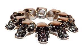 bracelet skull beads images Skull beads survival bracelet jpg